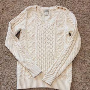 L.L. Bean Cable Knit Fisherman Sweater